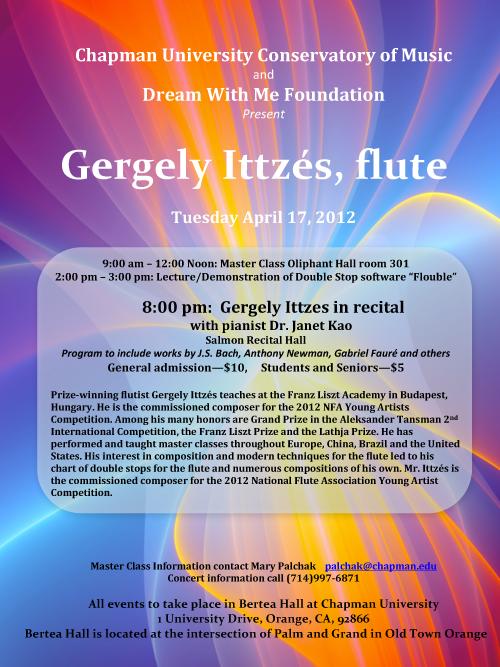 Gergley Ittzes, flute