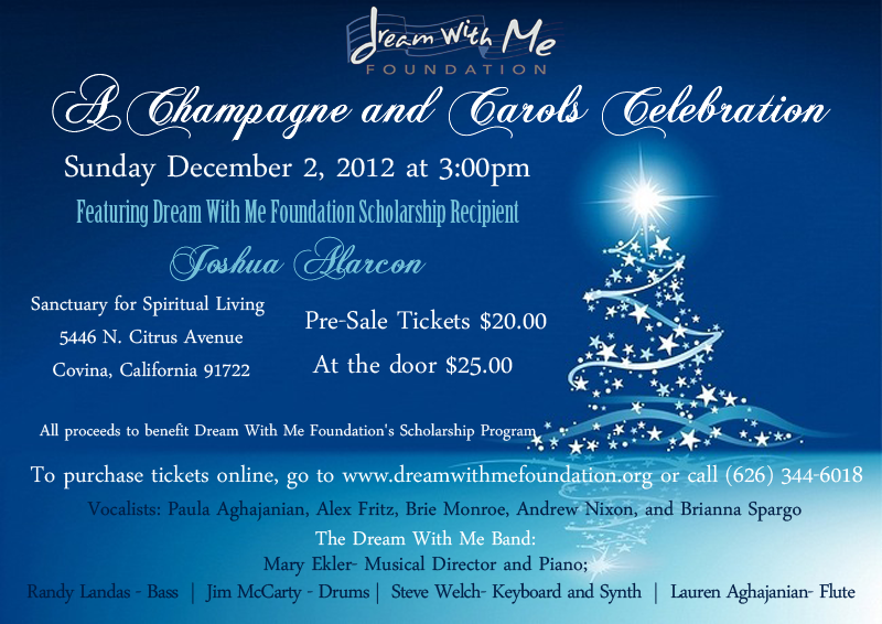 A Champagne and Carols Celebration